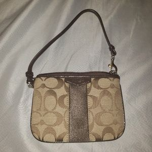 Coach mini purse brandnew